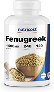 Best does fenugreek really work to increase milk supply Reviews