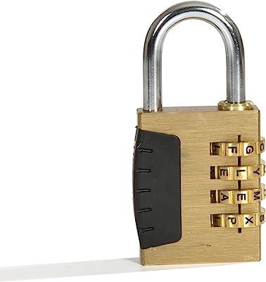 Wordlock PL-056-SL Combination Sports Lock
