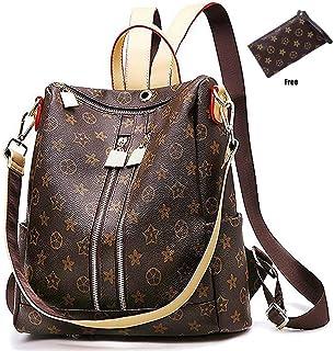 bc555697ca7b Casual Purse Fashion School Leather Backpack Crossbady Shoulder Bag Mini  Backpack for Women   Teenage Girls