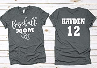 Baseball Mom- Baseball Mom Shirts For Women- Baseball Mom Shirt- Glitter Baseball Mom Shirt Unisex Fit- New Design