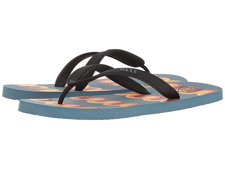 Reef Switchfoot Print (Blue/Multi Lines) Men