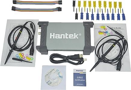Hantek 6022BL PC Based USB Digital Portable Oscilloscope + 16 CHs Logic Analyzer Auto Diagnostic Tool