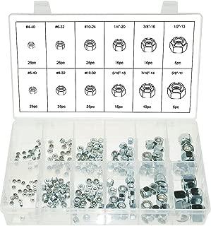 Swordfish 30330-210pcs Nylon Insert Lock Nut Assortment 12 Sizes from #4-40 to 5/8