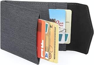Men Wallet - RFID Minimalist Slim Front Pocket Card Travel Holder