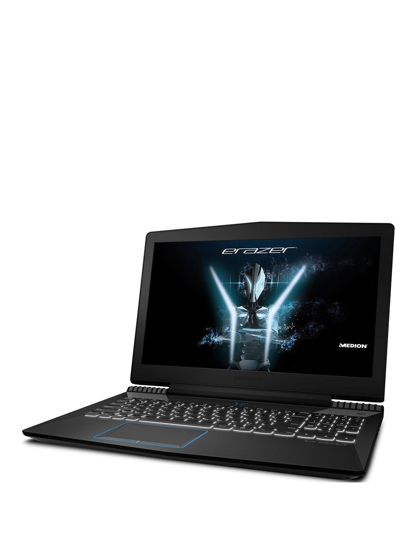 Medion ERAZER 15.5インチゲーミングノートパソコン - バリアント30022556 Intel Core i7、1TB + 256GB  -  GTX 1050Ti 4GB