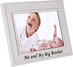Lawrence Frames Big Brother Silver Plated 6x4 Picture Frame - Me And My Big New