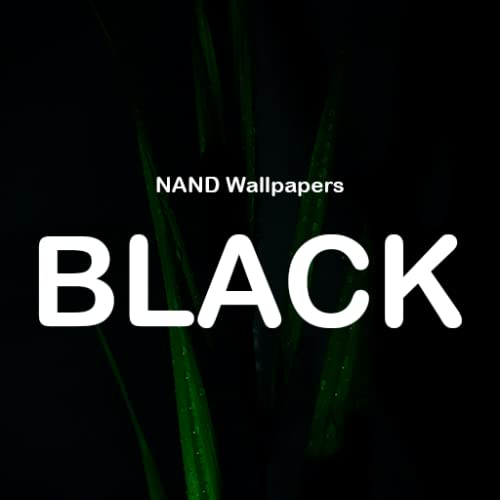 NANDA Black - Fondo de pantalla Negro HD