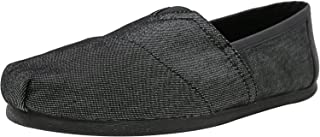 TOMS Men's Classic Heavy Denim Ankle-High Fabric Slip-On Shoes