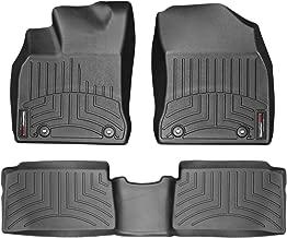 WeatherTech Custom Fit FloorLiner for Lexus CT - 1st & 2nd Row (Black)