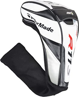 Taylor Made R11S Driver Headcover (Wht/Blk/Red) 460cc Golf Club Cover NEW