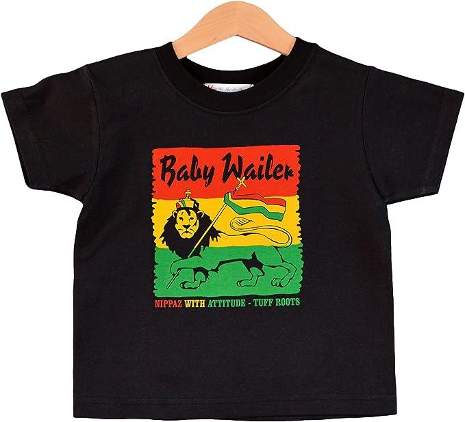 Camiseta de bebé Wailer Reggae para niños de 1 a 2 años