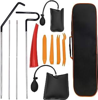 کیت ابزار حرفه ای اتومبیل Aionep ، مناسب برای انواع خودروها ، دسترسی آسان به مسافت طولانی ، گوه هوا ، گوه بدون سایش و کیف ابزار