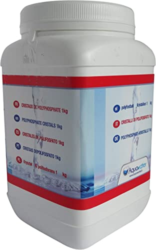 AQUAWATER 105015 - Recharge antitartre polyphosphate - 1KG