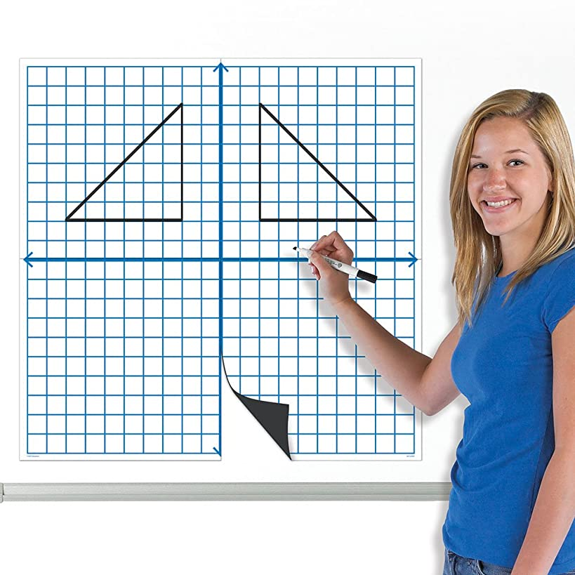 EAI Education Jumbo Magnetic X-Y Coordinate Grid