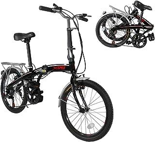 "Xspec 20"" 7 Speed City Folding Compact Bike Bicycle Urban Commuter"