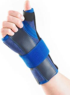 Neo G Wrist and Thumb Brace, Stabilized - Spica Support for Carpal Tunnel Syndrome, Arthritis, Tendonitis, Joint Pain - Ad...