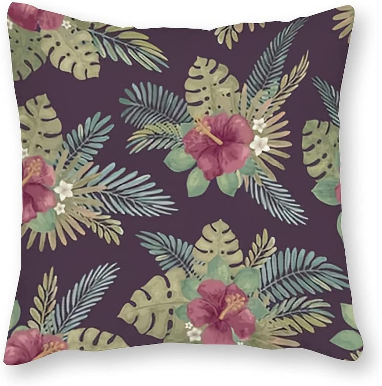UTF4C Tropical Max 62% OFF Summer Max 63% OFF Seamless Pattern - Pillow Throw Monstera C