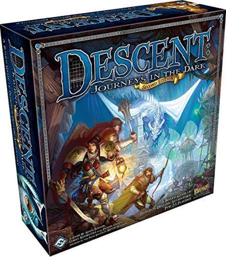 Amazon.com: Descent: Journeys in the Dark 2nd Edition : Fantasy Flight  Publishing, Inc.: Toys & Games