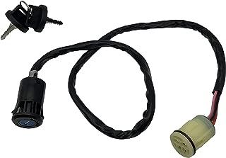 SHUmandala Ignition Key Switch fit Honda Rancher 350 400 420/Foreman 450 500 /Rubicon 500/Rincon 650 680 TRX350TE TEX400FGA TRX450TE TRX450ES 4X4 TRX500FM TRX650FA TRX680FA