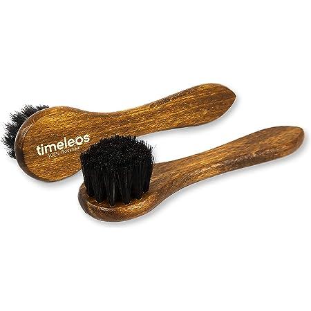 1 Auftragsbürste mit schwarzer Rosshaarborsten  Bürste