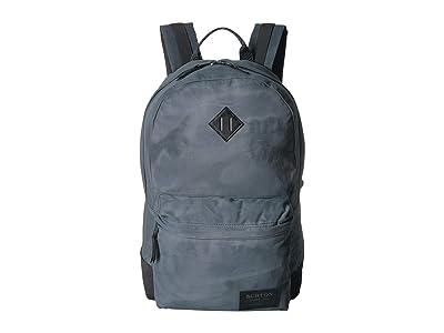 Burton Kettle Pack (Dark Slate Waxed Canvas) Backpack Bags