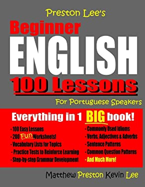 Preston Lee's Beginner English 100 Lessons For Portuguese Speakers