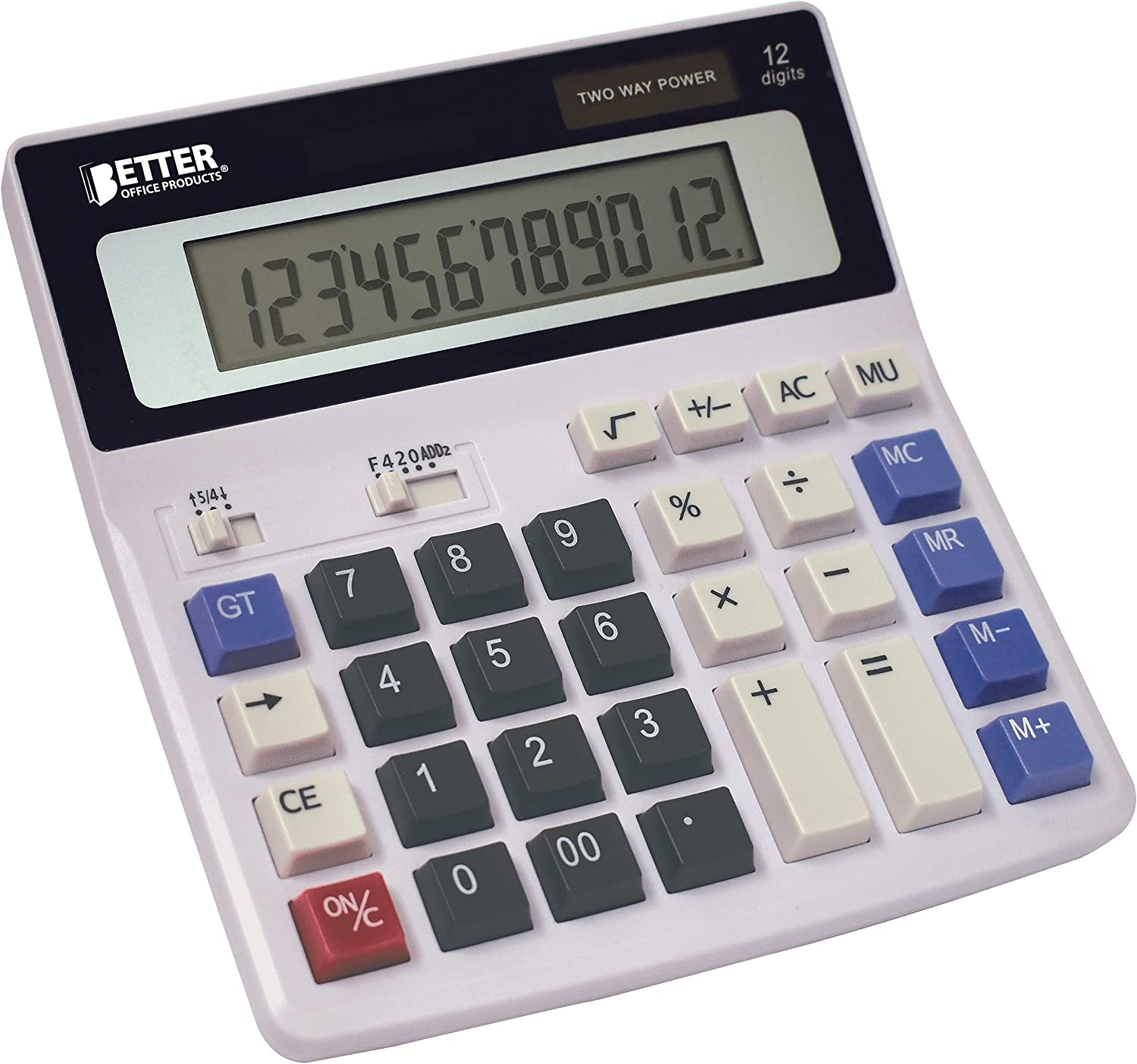 Extra Large Directly managed store Electronic Desktop 12-Digit Display High order LCD Calculator