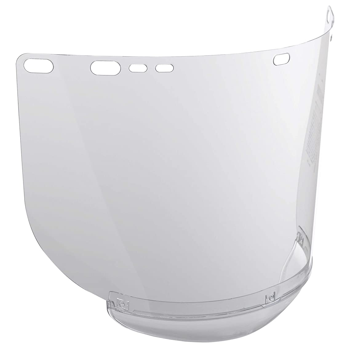 """Jackson Safety F20 High Impact Face Shield (29062), Polycarbonate, 8"""" x 15.5"""" x 0.04"""", Clear, Face Protection, Unbound, 12 Shields / Case oniioqph72313346"""