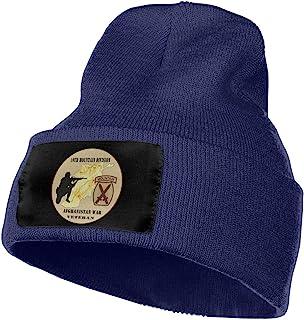 SIEMGNcap 10th Mountain Division Veteran Unisex Adult Knit Hat Cap Beanie Hat Skull Cap Knitted Beanie Warm Winter Hats