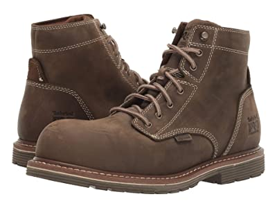 Timberland PRO Millworks 6 Composite Safety Toe Waterproof (Brown Turkish Coffee) Men