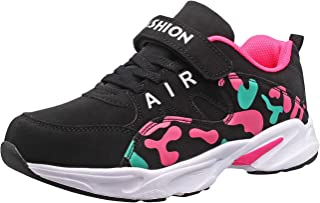 HSNA Baskets Mode Enfants Fille Chaussures de Sport Respirant Légères Chaussures l'école 28-38 Petit