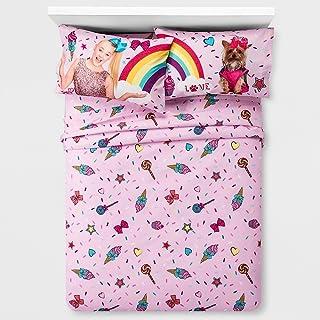 JoJo Siwa Girls Full Bedding Sheet Set