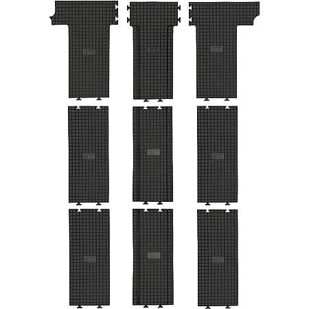Gummimatten Fahrzeugspezifisch 9 Teilig Az10092580 Automatten Fussmatten Auto