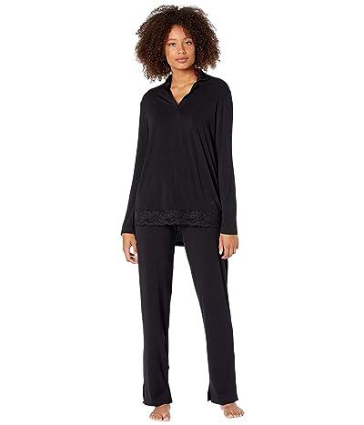 La Perla Layla Long Pajamas (Black) Women