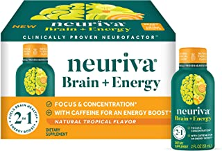 Neuriva Neuriva Brain + Energy Shots - Tropical 36/1.93 Ounce ., Tropical, 69.48 Fl Ounce