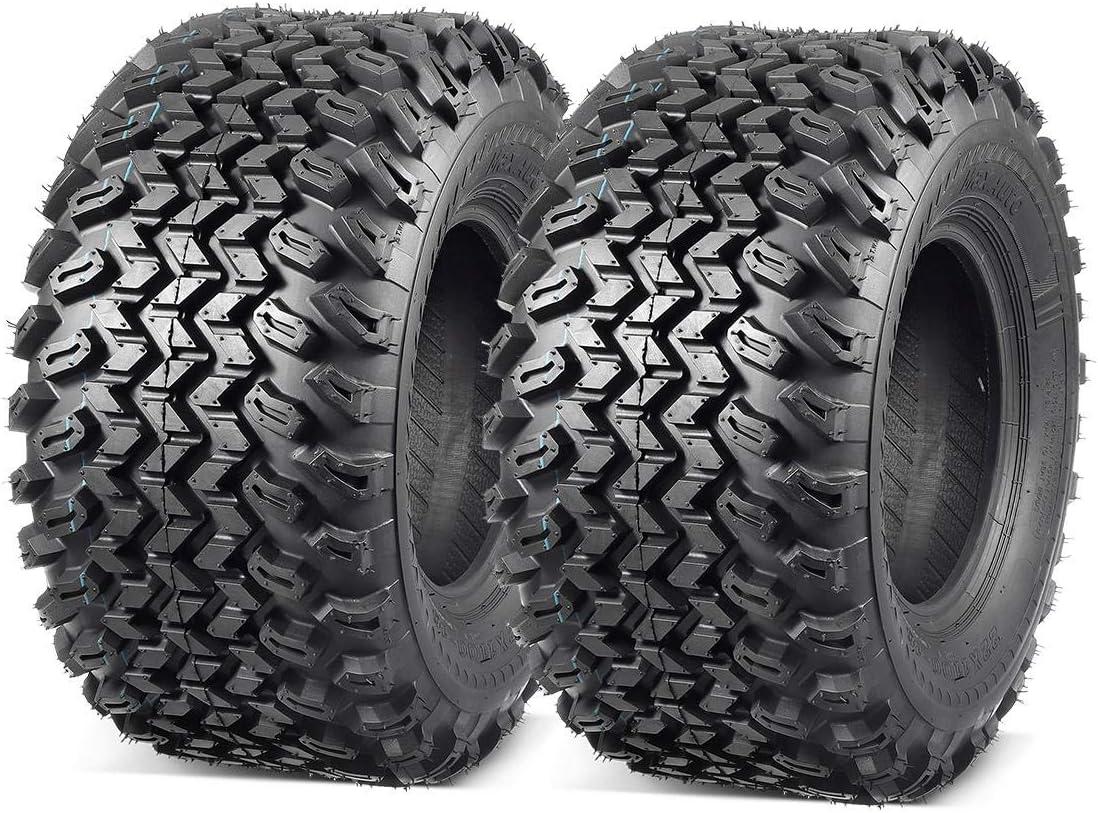 MaxAuto 2 Pcs All Trail Tire 22x11.00-10 Ti Cart Lawn Golf Max Max 59% OFF 85% OFF Mower