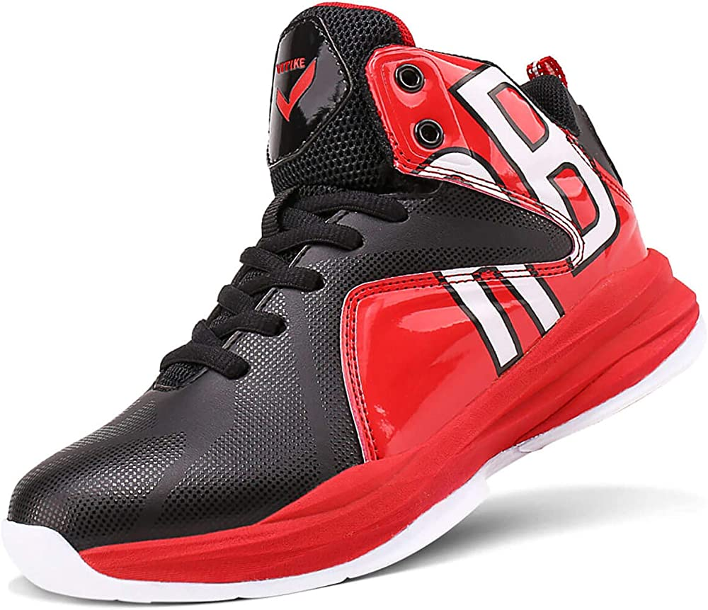 ashion scarpe da ginnastica da basket sneakers per bambini/ragazzi in pelle sintetica e tessuto 805611a