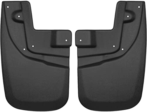Husky Liners - 56931 Fits 2005-15 Toyota Tacoma - with OEM Fender Flares and had OEM Mud Guards Custom Front Mud Guar...
