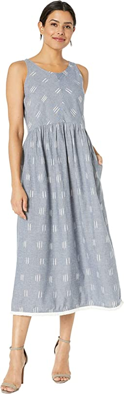 Ikat Button Back Dress