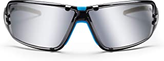SolidWork mirror safety glasses with integrated side protection, as well as fog-free, scratch-resistant and UV protective coated lenses incl. storage bag
