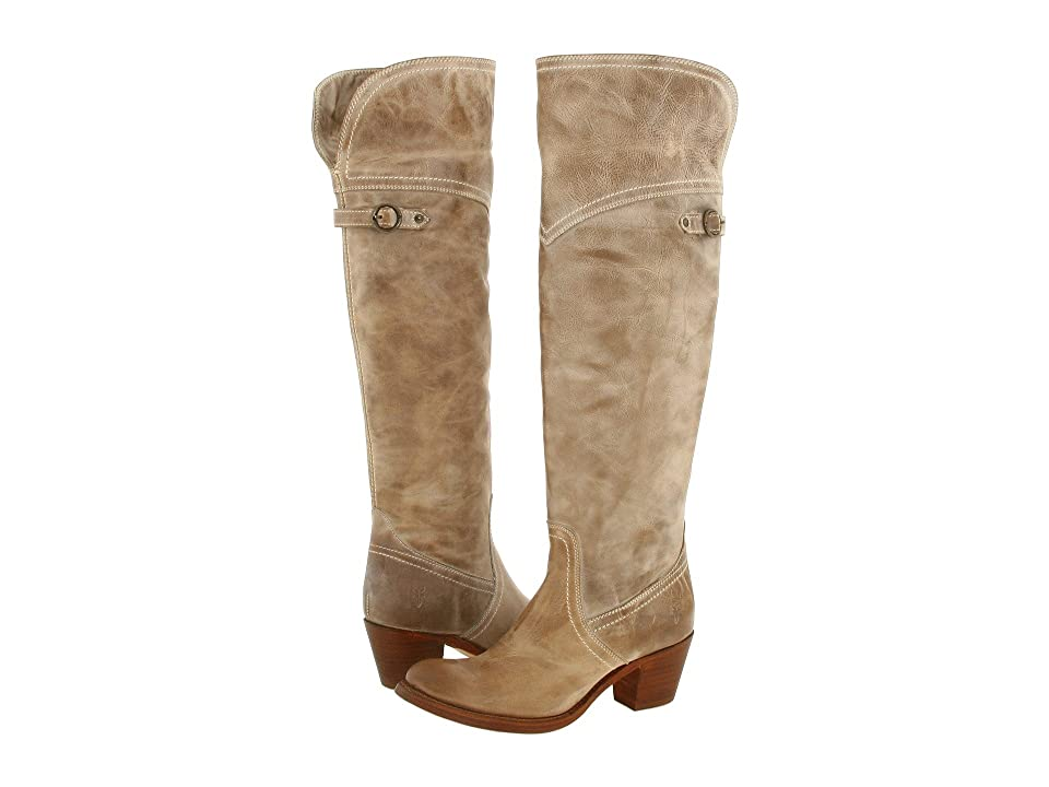 Frye Jane Tall Cuff (Taupe) Women