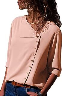 matériau sélectionné livraison rapide design exquis Amazon.fr : Rose - Chemisiers et blouses / T-shirts, tops et ...