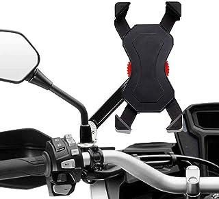 Universele fietshouder voor mobiele telefoon, verstelbaar en 360 graden draaibaar, smartphonehouderklem voor alle smartpho...