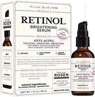 Best retinol brightening serum rosen apothecary Reviews