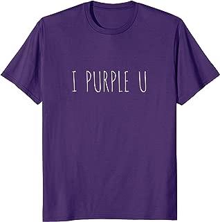 I Purple U Tae V Tee Shirt