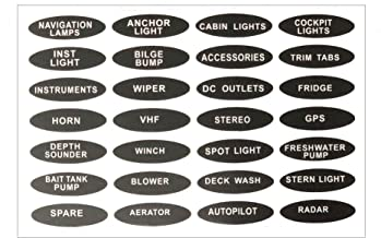 Best boat switch labels Reviews