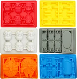 Kotobukiya Star Wars Silicone Ice Trays/Chocolate Molds, Set of 6
