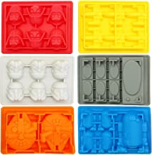 Star Wars Silicone Ice Trays/Chocolate Molds, Set of 6