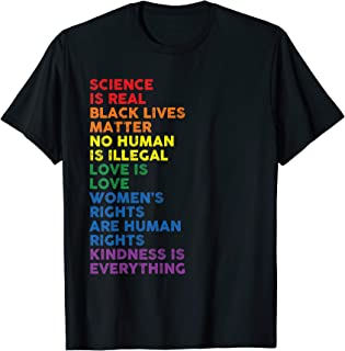 Distressed Science Is Real Black Lives Matter LGBT Pride...