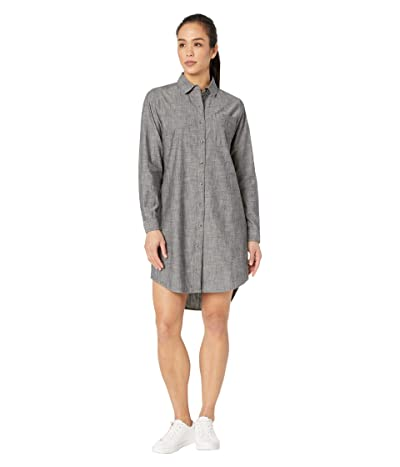 The North Face Chambray Dress (Black Chambray) Women